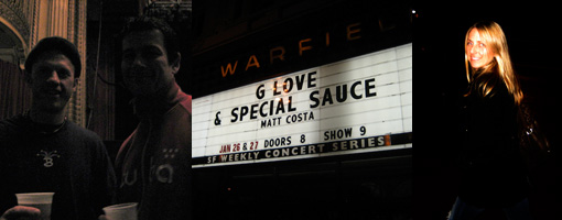 G-Love and the Special Sauce