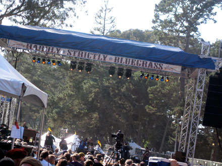 Bojon Hardly Strictly Bluegrass Festival